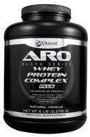 ARO-Vitacost Black Series Whey Protein Complex PLUS Natural Vanilla