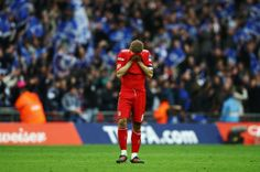 Steven Gerrard is Heart broken after Liverpool defeat in FA CUP