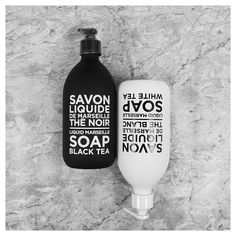 Le Noir & Le Blanc : une institution. Black & White : an institution.  #compagniedeprovence #savonliquide #blackandwhite #savonliquide #intemporel #design