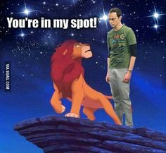 Oh Sheldon!