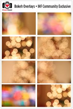 Join the I Heart Faces Photography Community Forum - One of the friendliest forums in photography! Get these Free Bokeh Overlays!