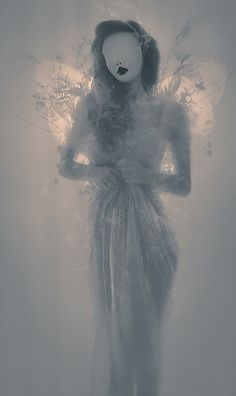 """""""The soul is a magician. Only living flesh hampers it."""" ~ Tanith Lee   (© leslie ann O'Dell)"""