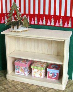 how to: Christmas bookshelf