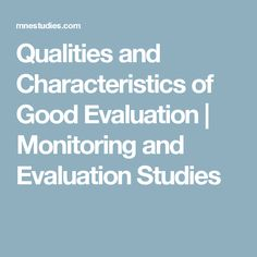 The Program Evaluation Standards  Program Evaluation