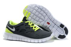 best service 559fc 5e92d Find Men Nike Black Green White Free Run+ 2 Shoes online or in Curryshoes.  Shop Top Brands and the latest styles Men Nike Black Green White Free Run+  2 ...