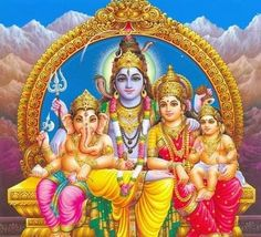 Lord Shiva & family