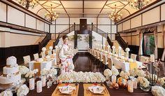 バンケット |【公式】代官山 鳳鳴館 東京代官山にグランドオープン、和装と古き良き日本(大正浪漫)を感じさせるゲストハウスウェディングの結婚式場・披露宴会場|目黒区、渋谷駅・恵比寿駅、近隣