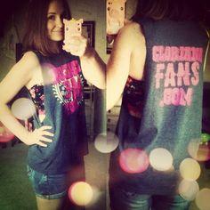 CMA Fest muscle tank shirt DIY!