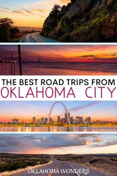 17 Spectacular Road Trips from Oklahoma City – Oklahoma Wonders Looking for the best places to visit from Oklahoma City? Here are the best Oklahoma road trips by length of drive. Usa Travel Guide, Travel Usa, Travel Tips, Travel Advice, Travel Guides, Road Trip Essentials, Road Trip Hacks, Weekend Trips, Day Trips