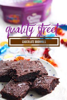 Quality Street Chocolate Brownies
