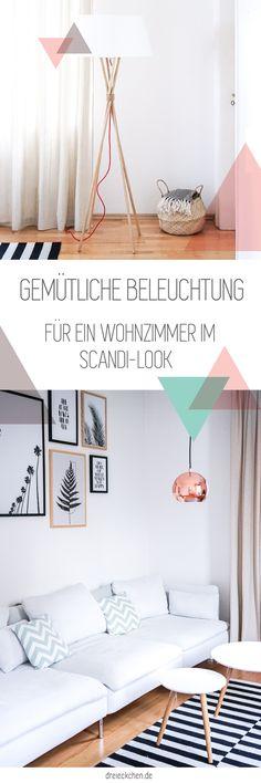 Gemütliche Beleuchtung Und Scandi Deko Fürs Wohnzimmer: Interior Highlights  Von BoConcept // Werbung