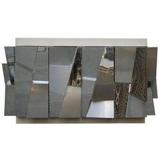 Sideboard ideas for your home decor | artsy mirrored sideboad |www.bocadolobo.com #modernsideboard #sideboardideas