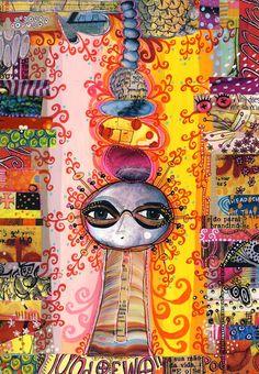amazing Teesha  //  teesha's circus: Journal pages