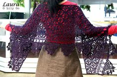 LilyGo: Laura Shawl Crochet Pattern and Kit for Sale