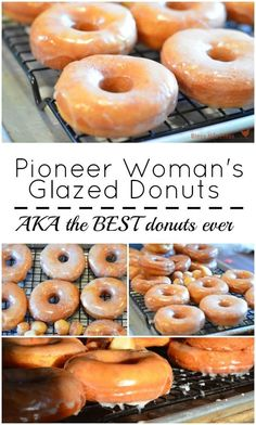 Pioneer Woman's Glazed Donuts Pioneer Woman's Glazed Donuts are the BEST donuts you'll ever eat. I've been making this easy donut recipe for years and can honestly tell you it's PERFECT! - The Pioneer Woman's Glazed donuts AKA the best donut recipe ever Best Donut Recipe, Baked Donut Recipes, Best Glazed Donut Recipe, Easy Yeast Donut Recipe, Fried Doughnut Recipe, Baked Cake Donut Recipe Without Donut Pan, Fry Donuts Recipe, Light Fluffy Donut Recipe, Deep Fryer Donut Recipe