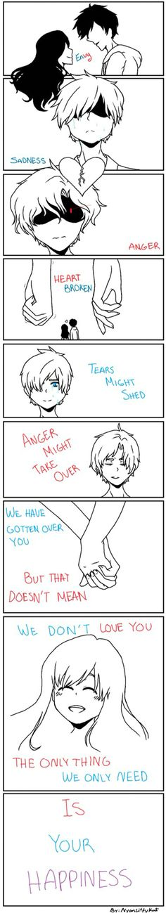 THIS HIT ME RIGHT IN THE FEELS!!! (Red is Laurance, Blue is Garroth)