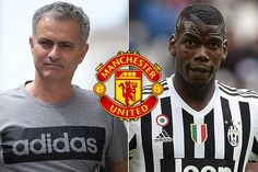French midfielder Paul Pogba is a target for Manchester United their manager Jose Mourinho all bu...
