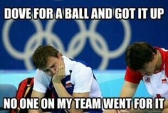 Volleyball or stand around like abunch of idiots. Like helllo, could you not! I can't hit twice!!!