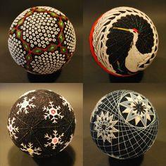 """Japanese """"temari balls"""""""