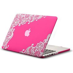 "Kuzy - Retina 13-inch Lace Neon PINK Rubberized Hard Case for MacBook Pro 13.3"" with Retina Display A1502 / A1425 (NEWEST VERSION) Shell Cover - Lace Neon PINK Kuzy http://www.amazon.com/dp/B00NWRBUUW/ref=cm_sw_r_pi_dp_f1kWub0GKSS64"