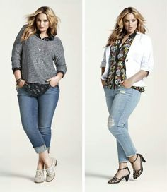 I have the shirt on the right.. now i need a cute blazer.....Torrid