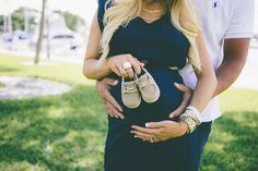Baby sperrys maternity photos