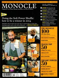 Monocle (December 2013/January 2014) issue no. 69