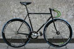 Cinelli Gazzetta Black (by Sardi Cicli) on Bike Showcase