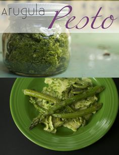 Arugula Pesto #recipe