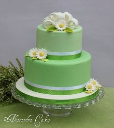 Spring Cake by Alessandra Cake Designer, via Flickr