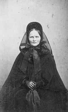 1860's Lady in Mourning - I have a very similar picture of my grandma's Great Grandma Dunham.