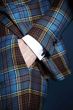Notice the impeccable tailoring! The plaid strips match up at the seams. Lapo's wardrobe by Gucci ZsaZsa Bellagio – Like No Other: guys