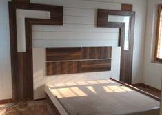Bedroom Wall Designs, Bedroom False Ceiling Design, Bedroom Bed Design, Bedroom Furniture Design, Modern Bedroom Design, Bed Furniture, Furniture Ideas, Bedroom Decor, Lcd Wall Design