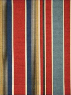 "Cheshire Stripe Colonial - Outdoor fabric up the roll stripe. 13.5"" repeat. 100% poly. resists mildew and fading. 54"" wide."