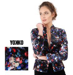 New Velvet Jacket Velvet Jacket, Flower Power, Classy, Slim, Elegant, Blouse, Floral, Fabric, Jackets