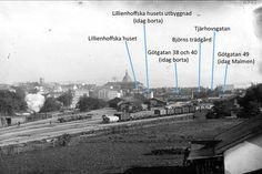 """De ovanliga bilderna som visar Medborgarplatsens historia är fascinerande. Se bilder från Södermalms förvandling och läs om den vidriga sjö som låg centralt på Söder ända fram till mitten av 1800-talet. Den som bodde vid """"Medis"""" förr i tiden hade sjötomt..."""