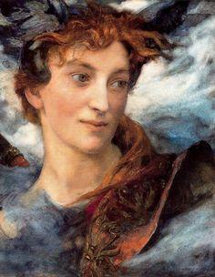 Edgar Maxence (French, 1871-1954). Divine Head
