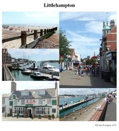 Littlehampton West Sussex - a couplle of day trips 29 July & 3 August 2013