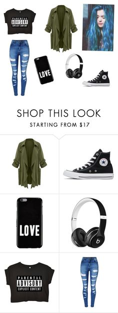"""""""´Parental advisory"""" by carmis-leon on Polyvore featuring moda, Converse, Givenchy y WithChic"""