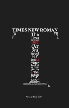 Times New Roman, la clasica
