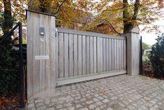 Houten poorten op maat padoek - Regio Antwerpen - Nova Concepts