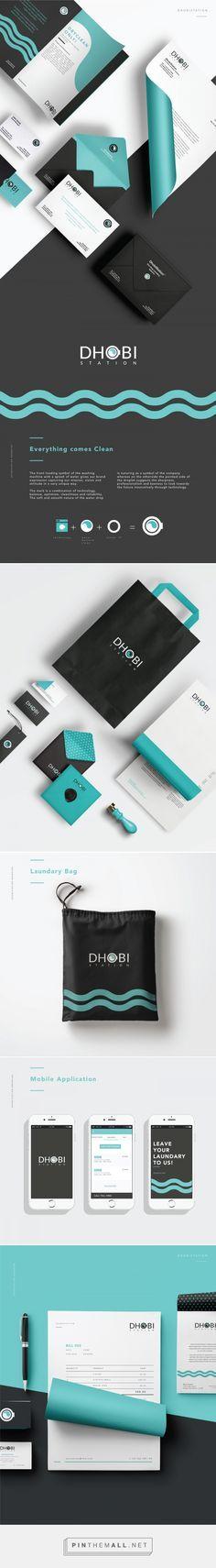 Dhobistation One Stop Laundry Solution Branding by Meroo Seth | Fivestar Branding – Design and Branding Agency & Inspiration Gallery