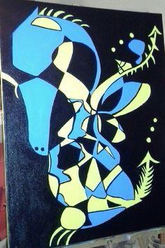 16x20 Abstract Dragon  $99.95