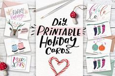 50 christmas cards with quotes on creative market digital design 50 christmas cards with quotes on creative market digital design goods for personal or commercial projects graphic design elements and resources reheart Gallery