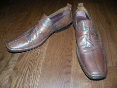 MARK NASON Rock Never Dies Italian Loafers Shoes 8.5 Leather Cross $89.99 #marknason #italianshoes #ebay