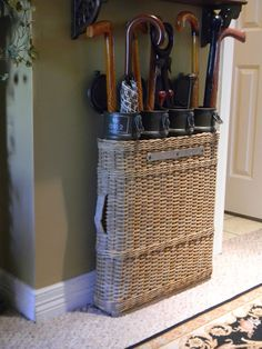 Nancy's Daily Dish: From Conflict to Collectible. Vintage artillery basket.