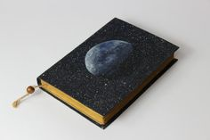 30% off MOON  journal travel journal book journal by Patiak