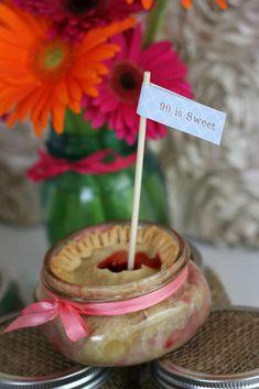 Vintage Mason Jars Birthday Party Ideas | Photo 9 of 16 | Catch My Party
