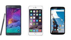 La espera se acabo y ya tenemos a los principales contendientes encima de la mesa: Google, Samsung y Apple han presentado sus smartphones (phablets) de esta temporada y ya podemos hacer una compara...