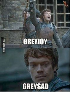 #GameOfThrones GreyJoy GreySad :P | Game Of Thrones Memes and Quotes